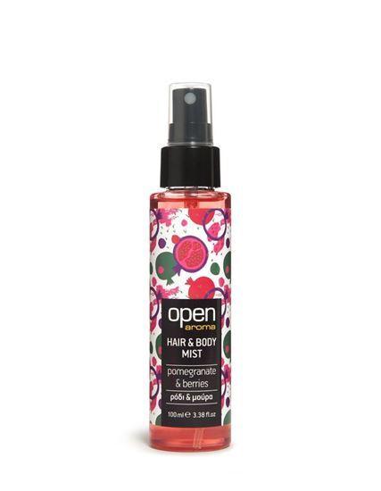 Zobrazit detail výrobku Open Vlasový a tělový sprej granátové jablko & lesní plody 100 ml