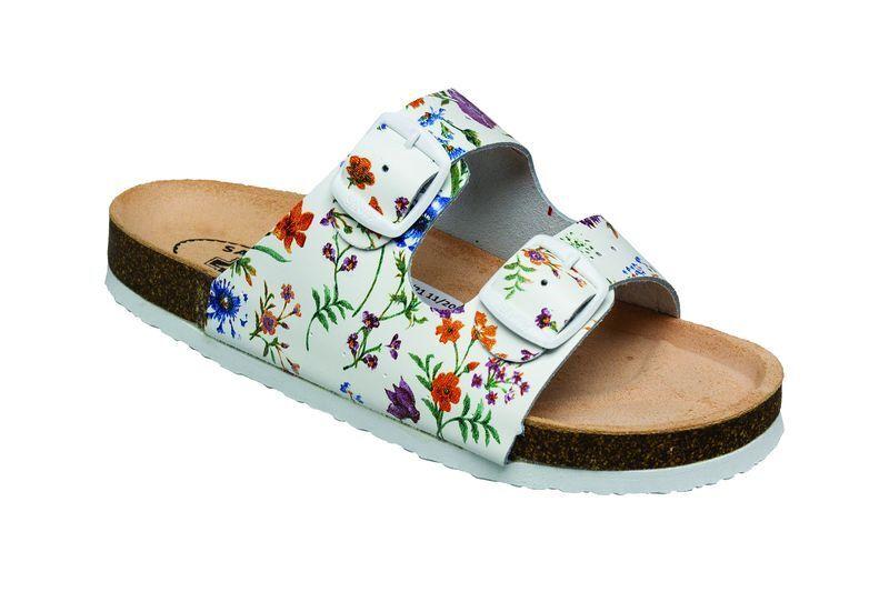 Zobrazit detail výrobku SANTÉ Zdravotní obuv - dámská D/21/FLORA BÍLÁ 37