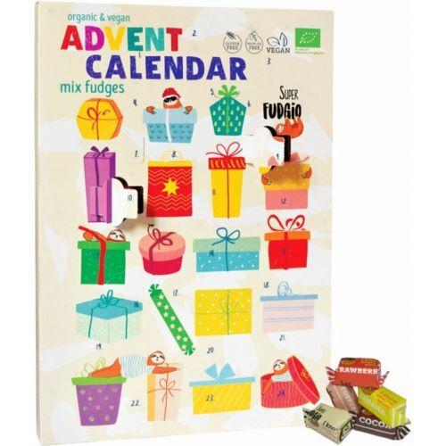 Super Fudgio Adventní kalendář karamelkový BIO vegan 260 g