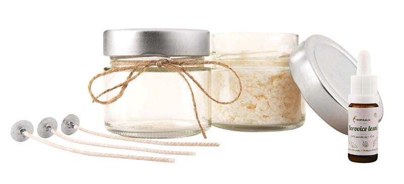 Zobrazit detail výrobku Tropikalia Set pro domácí výrobu přírodní svíčky Červený pomeranč