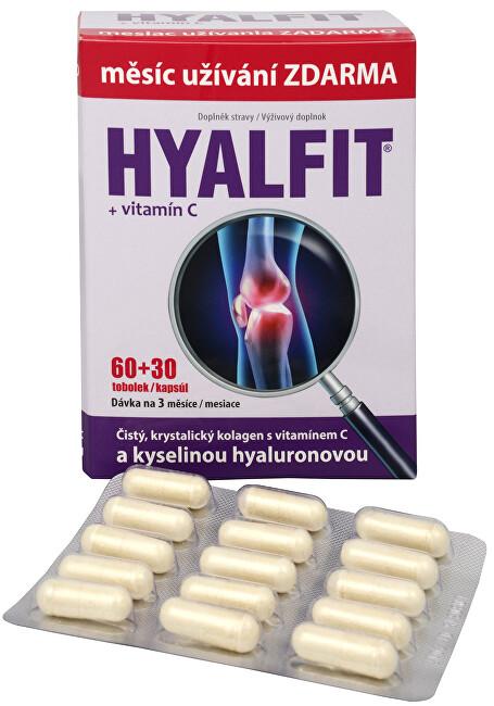 Zobrazit detail výrobku Dacom Pharma Hyalfit 60 tob. + 30 tob. ZDARMA - SLEVA - POMAČKANÁ KRABIČKA