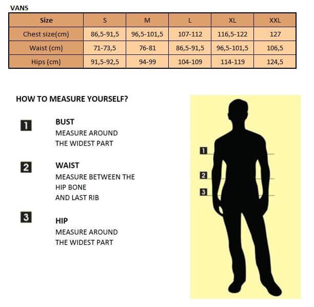 Tabella delle misure