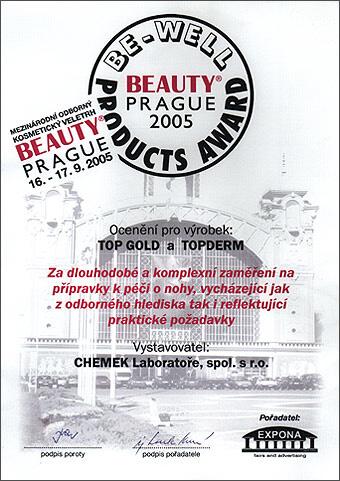 Ocenění z kosmetického veletrhu Beauty