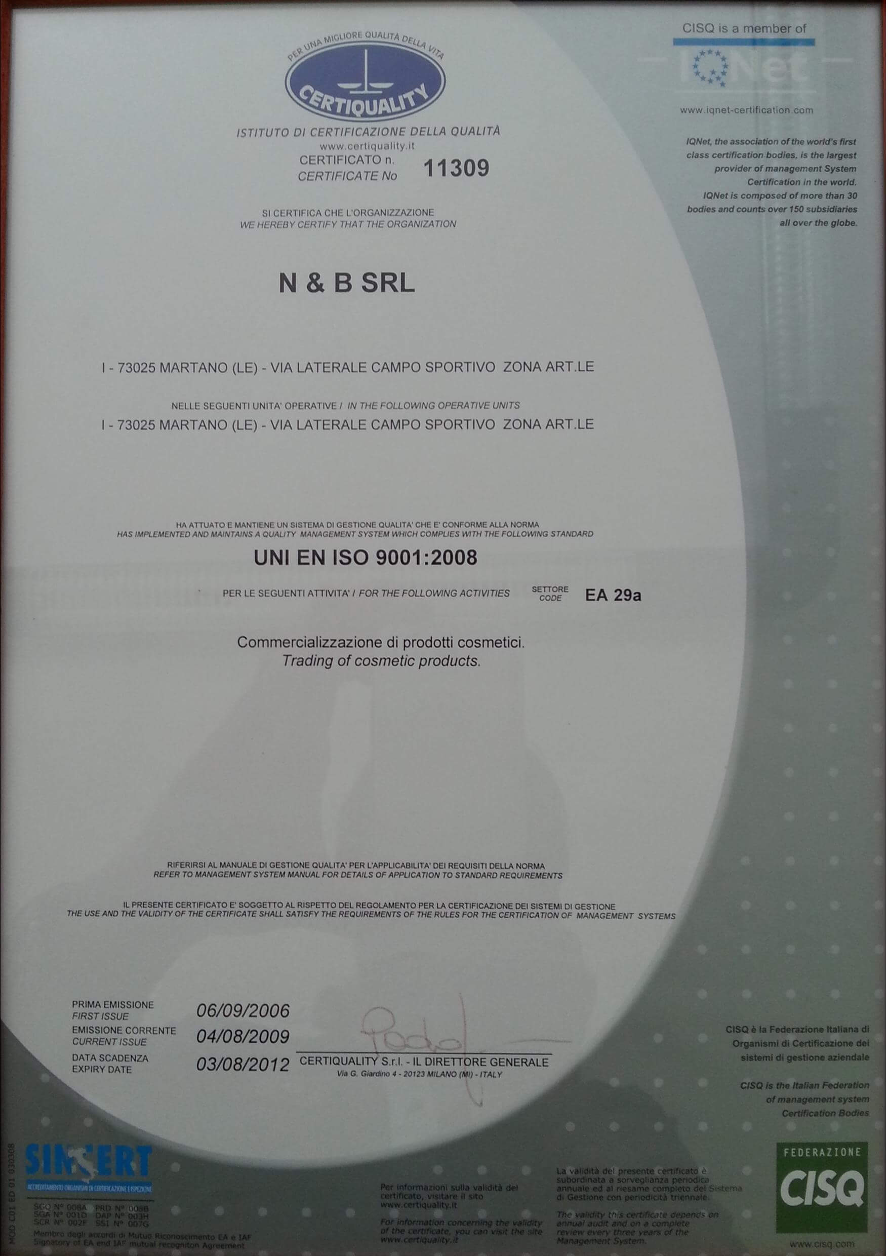 Certiquality (ISO standard)