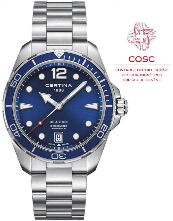 DS Action Chronometer C032.451.11.047.00