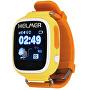 Smart dotykové hodinky s GPS lokátorom LK 703 žlté - ZĽAVA