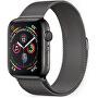 Ocelovémilánskétahy42/44mm Ocelový milánský tah pro Apple Watch - Grafitový 42/44 mm