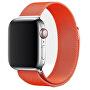 Ocelový milánský tah pro Apple Watch - Oranžový 38/40 mm