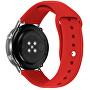 Silikonový řemínek pro Samsung Galaxy Watch - Red 20 mm