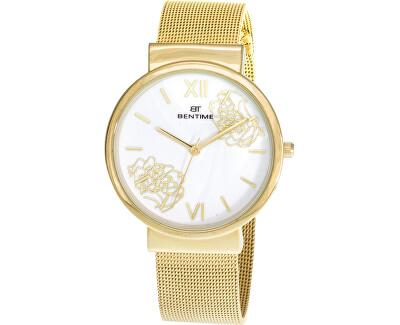 Dámské kvetinové hodinky 007-9MB-PT12084E