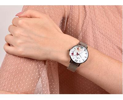 Dámské květinové hodinky 006-9MB-PT11894W