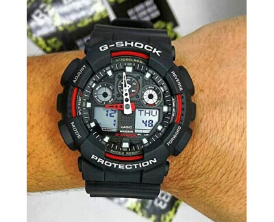The G/G-SHOCK GA-100-1A4ER