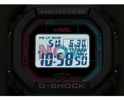 G-SHOCK Gorillaz Limited Edition GW-B5600GZ-1ER Bluetooth Solar (397)