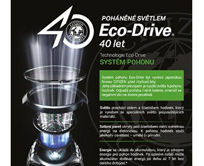 Eco-Drive Super Titanium EW2560-86A