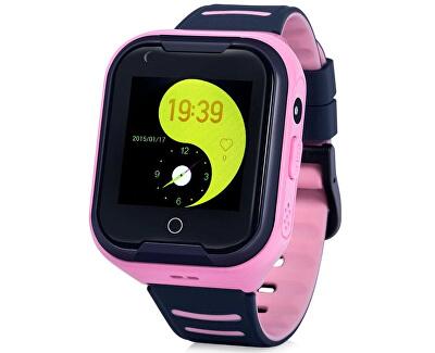 KT11 dětské hodinky s GPS růžové