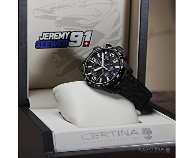 DS PODIUM Chrono G10 Automatic Limited Edition Jeremy Seewer C034.417.38.057.10
