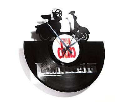 Nástěnné hodiny 033 Lambretta