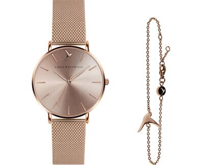 Sunray Mesh & Emily Bird Bracelet EWS011