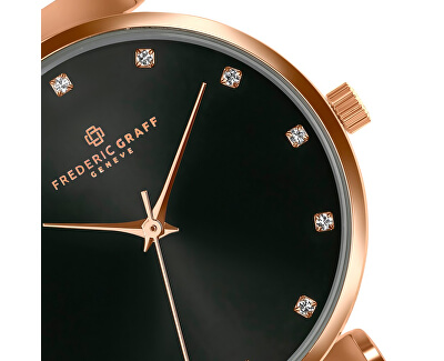 Batura Star Rose Gold Mesh Watch FCB-3918