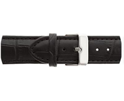Damavand Croco Black Leather FCN-B001S