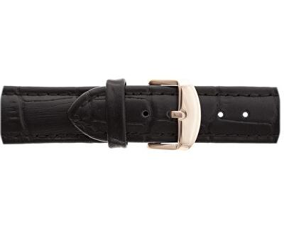 Gasherbrum Black Croco Leather Strap Watch FBY-B009R
