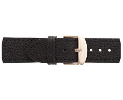 Kamet Lychee Black Leather Strap FCD-B012R