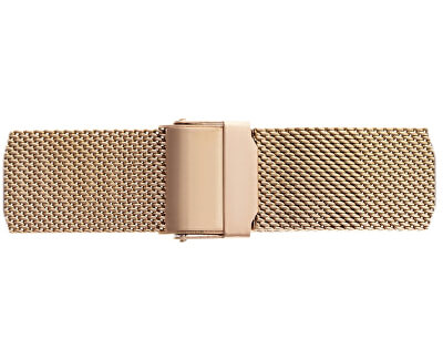 Kanjut Sar Rose Gold Fine Mesh Watch FCE-3214