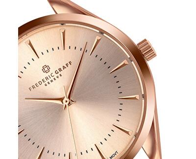 Kanjut Sar Rose Gold Fine Mesh Watch FCE-B033R