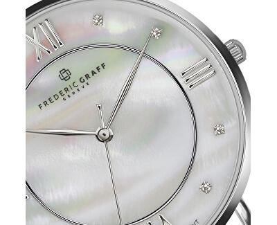 Silver Liskamm Lychee grey Leather FAJ-B015S