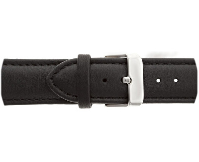 Silver Mont Fort Black leather FBJ-B007S