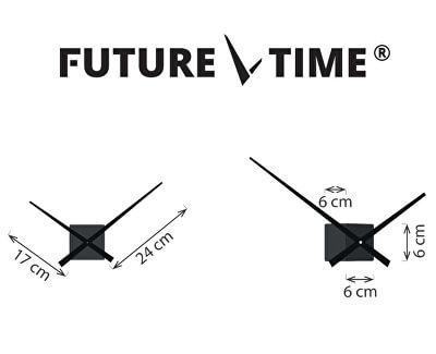 Nalepovací hodiny Cubic Silver FT3000SI