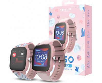 Chytré hodinky Forever IGO PRO JW-200 - Pink