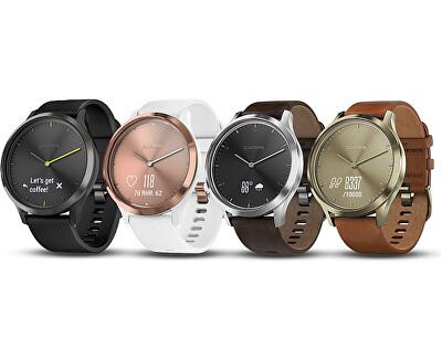 Vívomove Optic Premium chytré hodinky (vel. L) stříbrné