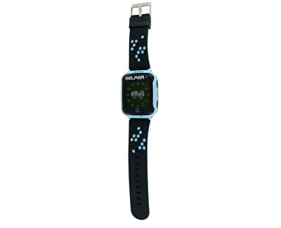 Chytré dotykové hodinky s GPS lokátorem a fotoaparátem - LK 707 modré - SLEVA