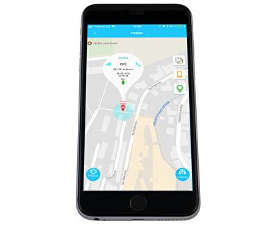 Smart dotykové hodinky s GPS lokátorom a fotoaparátom - LK 707 žlté
