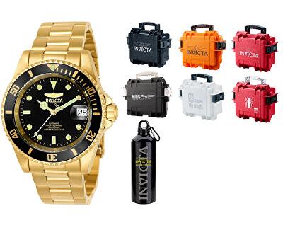 VÝHODNÝ SET Pro Diver Automatic 8929OB + stylový kufr + cestovní láhev