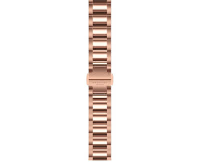 Curea din oțel rosegold 18 mm 2660