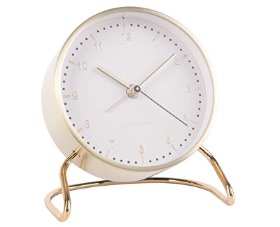 Budík Clock Stylish KA5764WH