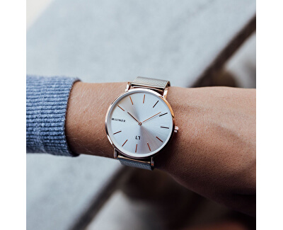 Mayfair Rose Silver 39 mm
