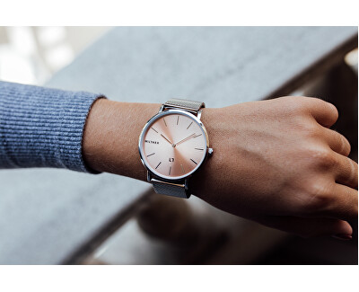 Mayfair Silver Pink 39 mm