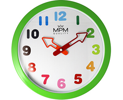 MPM Quality Nástěnné dětské hodiny Arrow E01.4050.40