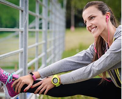 Fitness náramek Activo Pink - SLEVA