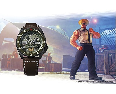 5 Sports Automatic Street Fighter Limited Edition GULIE - SRPF21K1