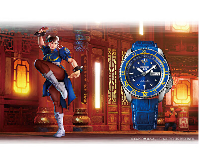 5 Sports Automatic Street Fighter Limited Edition CHUN-LI - SRPF17K1