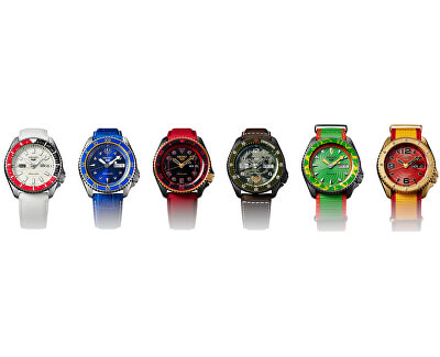 5 Sports Automatic Street Fighter Limited Edition KEN - SRPF20K1