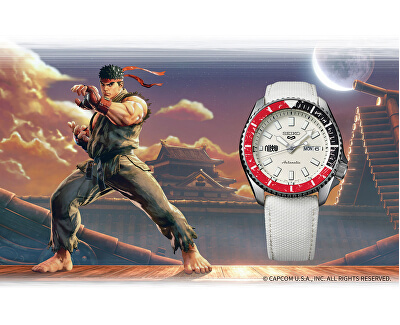 5 Sports Automatic Street Fighter Limited Edition RYU - SRPF19K1