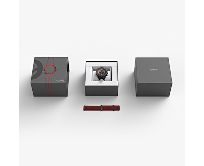 9 G1 Baro Red + exkluzivní kožený řemínek