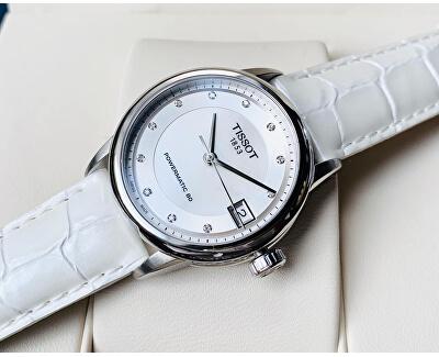 LuxuryAutomaticLady Powermatic 80 T086.207.16.116.00 s diamanty