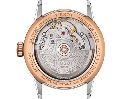T-Classic Luxury Automatic Powermatic 80 Lady T086.207.22.116.00