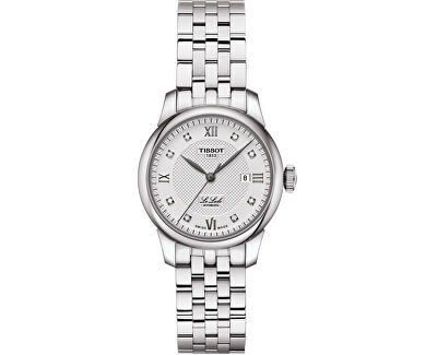 Le Locle Automatic Lady T006.207.11.036.00 s diamanty